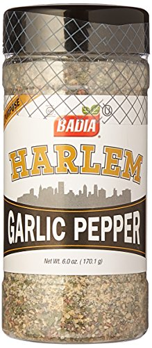 Badia Harlem Garlic Pepper 6 oz Pack of 3 ()