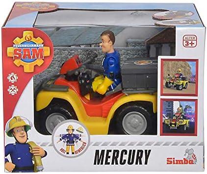 Fireman Sam SAMS Deluxe Mercury Quad ATV Bike Ages 3+