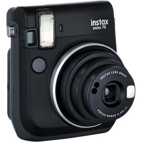 Fujifilm Instax Mini 70 Instant Film Camera Midnight Black 16513906