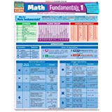 Math Fundamentals 1 Quick Reference Guide pamplet (Quick Study Academic)