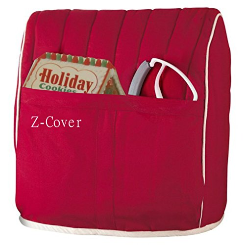 Best Mixer Cover For Tilt-Head Stand, Artisan and Classic Mixers - 100% Cotton, Z-Cover , Red