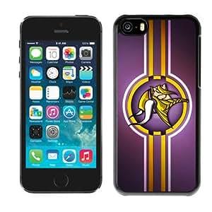 Unique Design 2014 Style NFL Minnesota Vikings Iphone 5C Case Cover Newest By zeroCase