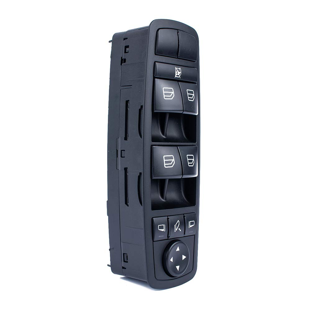 Amyove Main Power Window Switch for Mercedes-Benz W164 GL320 GL350 GL450 ML500 OE 2518300290 with Kit