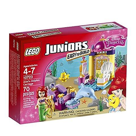 LEGO Ariel's Dolphin Carriage Playset 10723 (Lego Junior Princess)