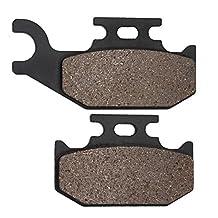 Cyleto Rear Brake Pads for Yamaha YXR660 YXR 660 Rhino 660 4x4 Side x Side 2004 2005 2006 2007