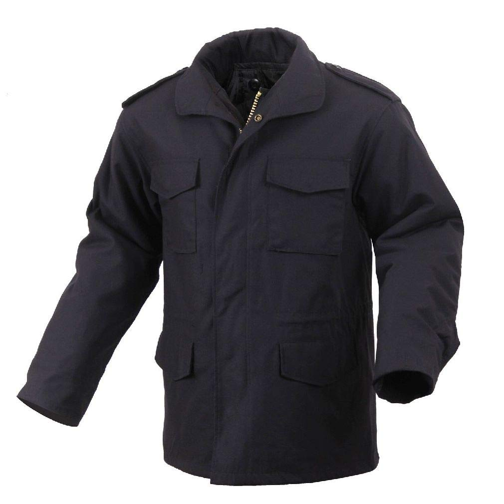 M-65 Field Jacket with Liner Black Military