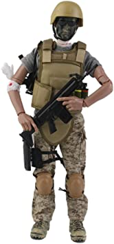12 inch 1//6 Army Combat Desert ACU Soldier Action Figures Model Toys