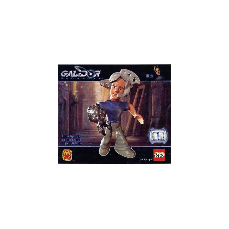 Lego 4040 Galidor #1 Nick    Mini Action Figure McDonalds 2002