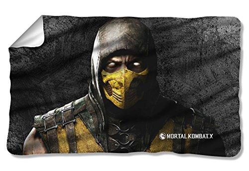 Mortal Kombat X Scorpion Fleece Blanket Multi Color