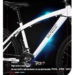 Adulti-Mountain-Bike-Spiaggia-motoslitta-Biciclette-Biciclette-Doppio-Disco-Freno-Uomo-Donna-Generale-26-Pollici-in-Lega-di-Alluminio-Ruote