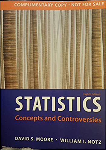 Statistics concepts and controversies 9781464123733 amazon books fandeluxe Images