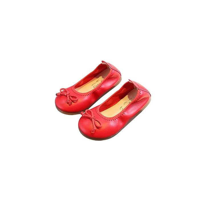 eleganceoo Kids Dress Ballet Flats Mary Jane Flat Shoe