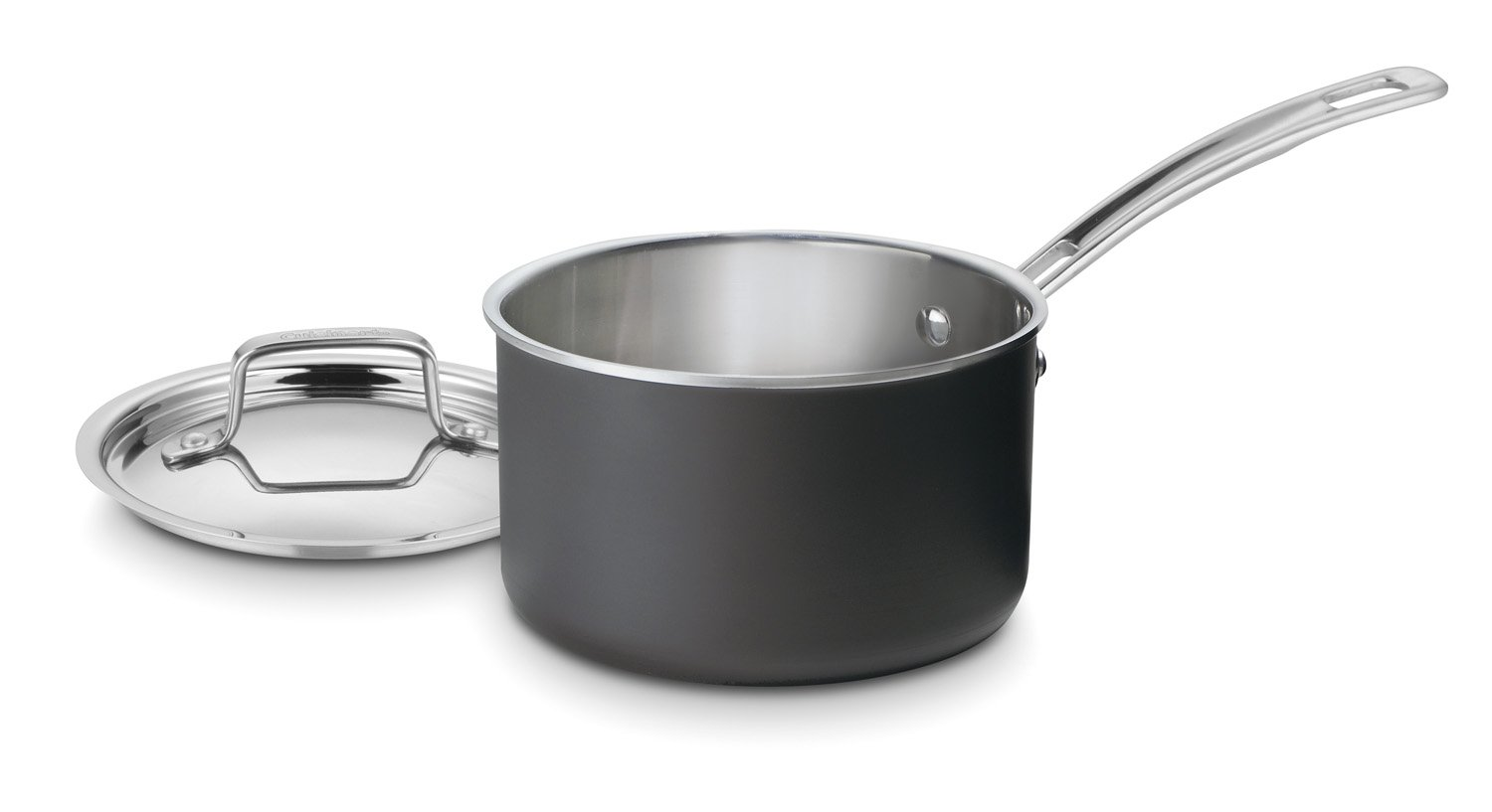 Cuisinart MCU192-16N MultiClad Unlimited Dishwasher Safe 2-Quart Saucepan with Cover