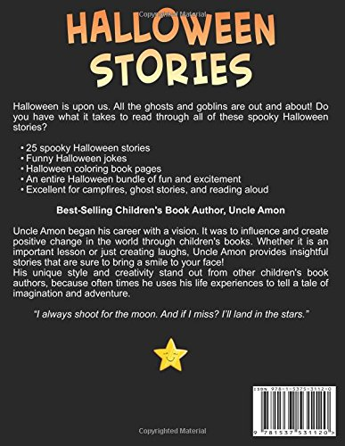 Halloween Stories Bundle 5 Books In 1 Spooky Halloween Stories For Kids Funny Jokes And Halloween Coloring Book Halloween Collection Volume 8 Amon Uncle 9781537531120 Amazon Com Books