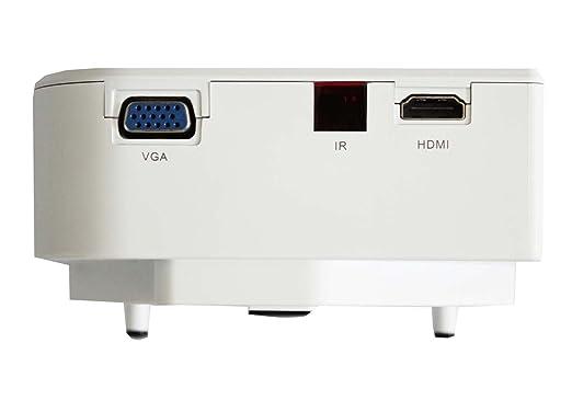 Mini Proyector, LED Disco Duro Móvil, Tarjeta del SD, Computadora ...