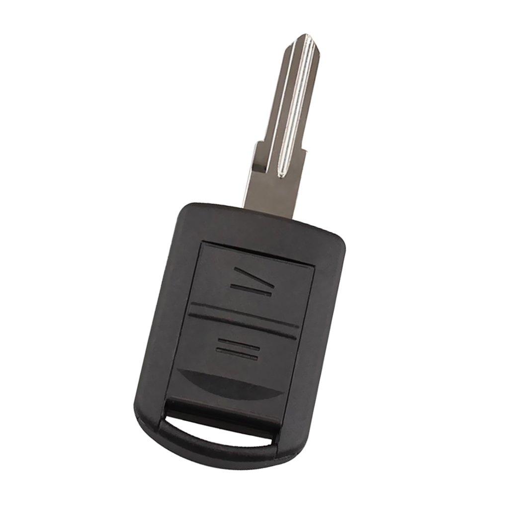 Fob Blanco 2 Botones de 433MHz Chip ID40 Entrada sin Llave Reemplazo para Opel Agila Meriva Corsa C