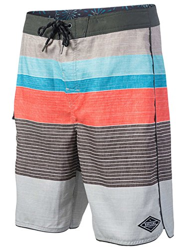 "2017 Rip Curl Strip 20"" Boardshorts HIGH RISE GREY CBOES4"