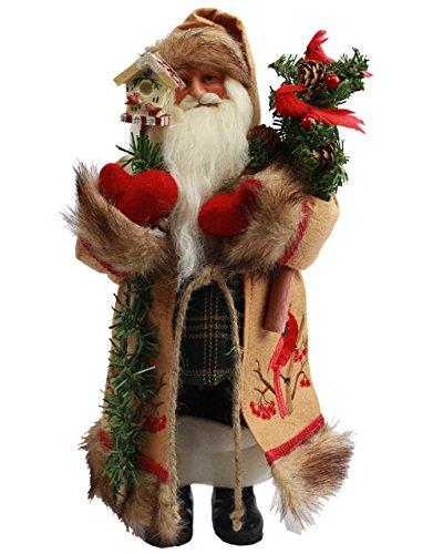 Santa's Workshop 8130 Cardinal Claus Figurine, 15''