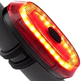 Ampulla Motion Sensor Bike Taillight Bike Brake Light USB Rechargeable Ultra Bright Bike Rear Light Fits On Any Road Bikes, Helmets, Cycling Safety Flashlight With Brake Sensing (Jet Black) Review