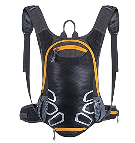 a89acea9d Cycling Rucksack with Helmet Holder, 15L Lightweight Ski Daypack (Mini,  Compact, Waterproof