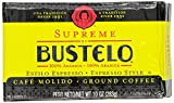 Supreme By Cafe Bustelo, Espresso Style Coffee, Brick, 10 Ounce (Pack of 12)
