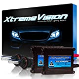 XtremeVision 35W HID Xenon Conversion Kit with Premium Slim Ballast - Bi-Xenon 9004 6000K - Light Blue - 2 Year Warranty