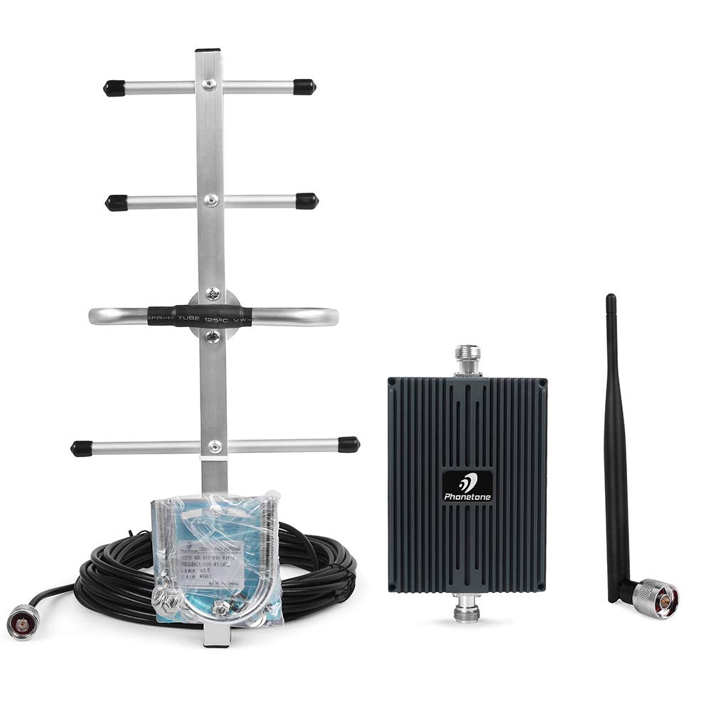 Cell Phone Signal Booster for Home and Office Use - Boost 4G LTE Signal for Verizon - 700MHz Band 13 Cellular Repeater Phonetone Ltd. L70VC