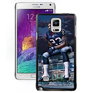 American Football Player Arian Foster Number-23 06 Black Abstract Samsung Galaxy Note 4 Phone Case