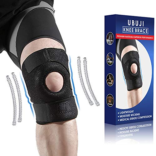 Medical Grade Knee Brace for Women & Men – Ergonomically & Scientifically Proven Designs Knee Compression Sleeve, Professional Athletes Recommend Knee Support for Meniscus Tear, ACL, LCL, MCL – Black