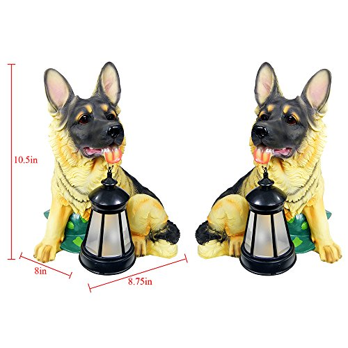 German Shepherd Solar Light