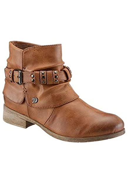 reputable site 631b7 bf39c Tom Tailor Women's Chelsea Boots Brown Size: 4 UK: Amazon.co ...