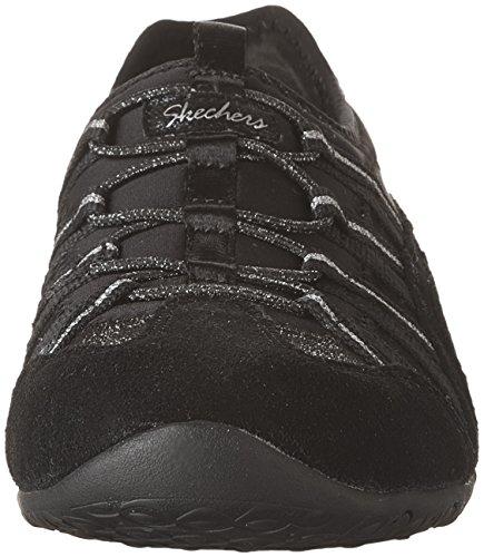 Skechers Unity Beaming Womens Slip On Sneakers Black/Silver TUd9jAq9