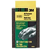 3M Small Area Sanding Sponge, 3.75-Inch x 2.625-Inch x 1-Inch, Extra fine/Fine, (907NA)