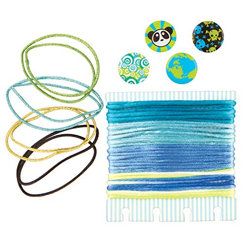 (Fashion Angels Not Just Knotz Refill Pack - Blue and Green)