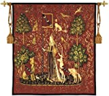 Fine Art Tapestries ''The Lady and the Unicorn'' Wall Tapestry