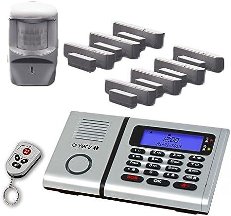 Premium starter-set-radio alarme Olympia protect 6030 avec 2 les détecteurs que