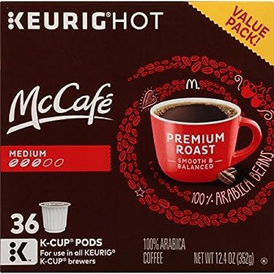 McCafe Premium Medium Roast Coffee K-Cup Pods Value Pack - 36 ct Box