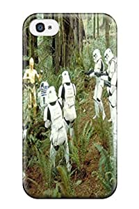 Tpu DanRobertse Shockproof Scratcheproof Star Wars Tv Show Entertainment Hard Case Cover For Iphone 4/4s