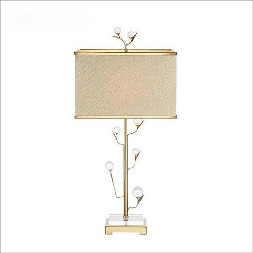 Amazon.com: E27 vidrio árbol lámpara de mesa moderna ...