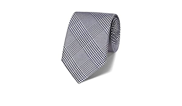 Charles Tyrwhitt clásica de corbata Prince-of-Gales-cuadros azul ...