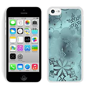 Personalization Snowflakes Digital Art White iPhone 5C Case 1 by icecream design