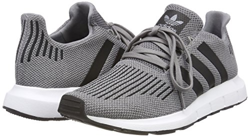 Black Gris Para Hombre De Grey F17 grey Running Zapatillas Heather Adidas Two Swift Run 001 core medium 10xwqATR7