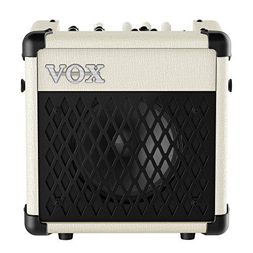 Amp Modeling Effects - VOX Mini5 Rhythm Battery-Powered 5W Modeling Amplifier, Ivory