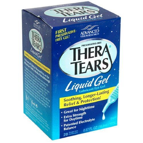 Thera Tears Liquid Gel (TheraTears Liquid Gel, 28-Count Package (Pack of 3) by Thera Tears)
