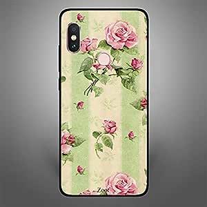 Xiaomi Redmi Note 5 Pro Cream green flowers