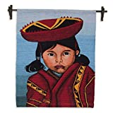 NOVICA ''Girl From Cuzco'' Wool Tapestry