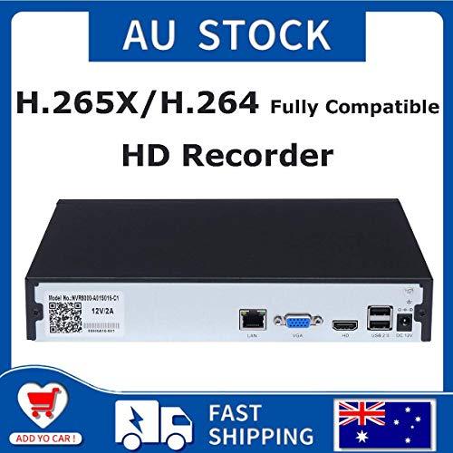16CH NVR 5MP HD H 265 Network Video Recorder Onvif P2P Remote View HDMI 4K  H 265 / H 264 Multi-Language