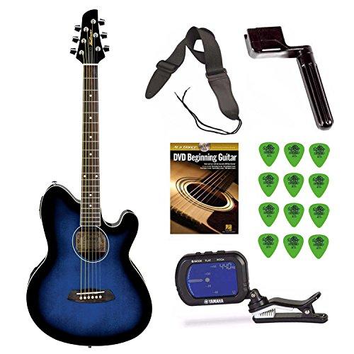 Ibanez TCY10E Talman Acoustic/Electric Guitar  + Free DVD, G