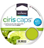 DEVINEAU 1601828 Ciris Caps 4 Diffuseur Capsules de Cire Caïpirinha du Brésil