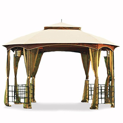 Garden Winds Replacement Canopy for the Newport Octagon Gazebo - 350
